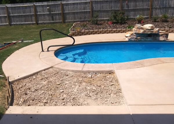 Pool Deck Resurfacing Before And After Pictures